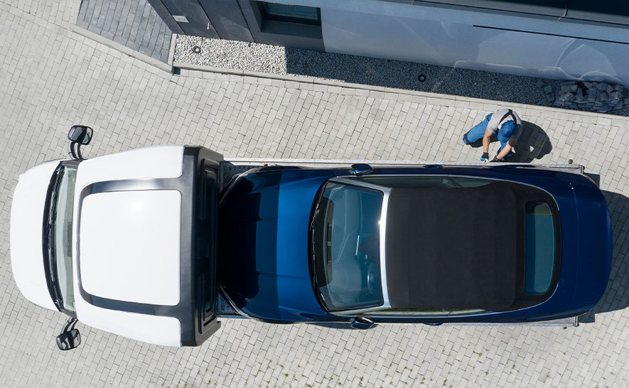 Эвакуатор для легкового автомобиля в Орле недорого
