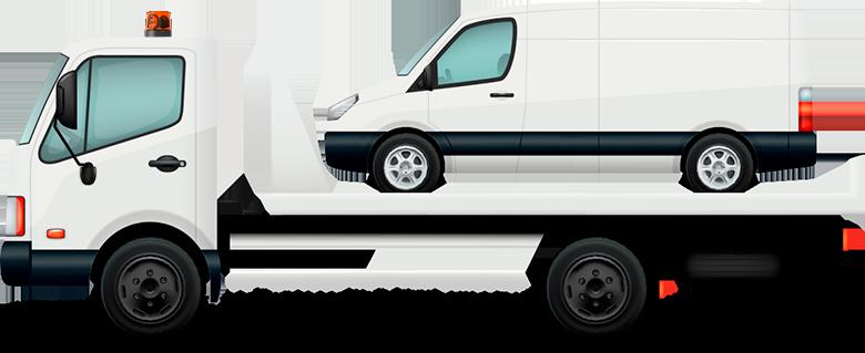 Эвакуация микроавтобусов и фургонов в Орле и области